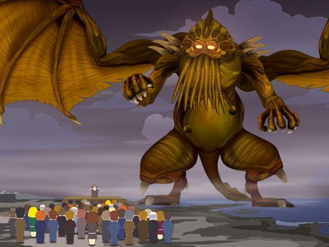 South Park Cthulhu