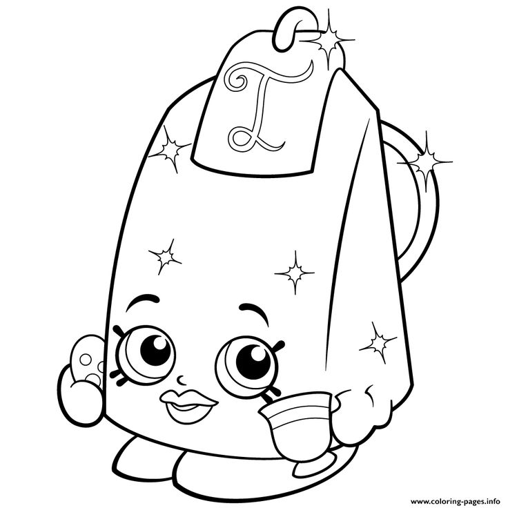 Print Lee Tea Season 2 Shopkins Coloring Pages