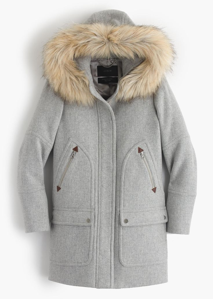Best 25  Grey parka ideas on Pinterest | Winter outfits, Winter ...