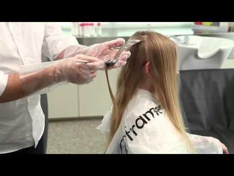 FRAMCOLOR 2001 - VIDEO TUTORIAL - La schiaritura dei capelli naturali