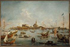 Le Doge de Venise sur le Bucentaure, à San Nicolò di Lido, le jour de l'Ascension | Musée du Louvre | Paris