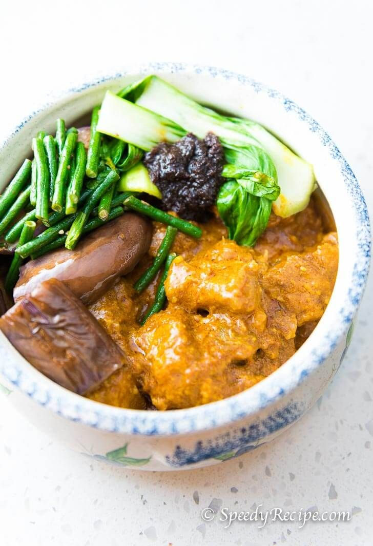 Oxtail Kare-kare Peanut Stew Filipino
