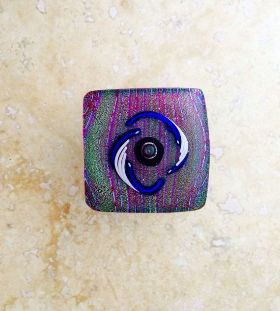 40 best Fused Dichroic Glass Cabinet Pulls and Door Knobs by 3D ...