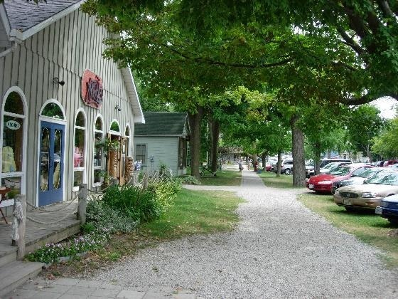 The picturesque town of Bayfield, Ontario, Canada