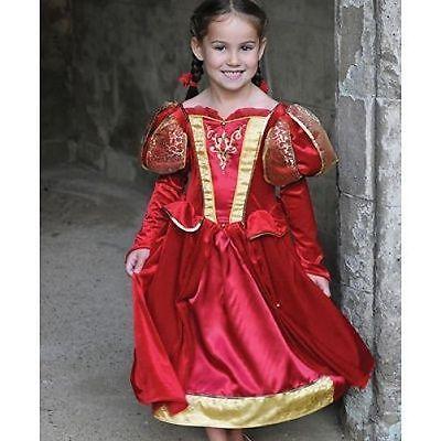 Da Bambina Regina Medievale Costume Tudor