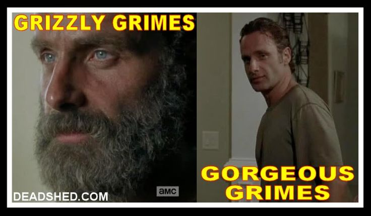 Grizzly vs. Gorgeous - The Walking Dead 5x12 memes...
