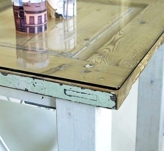 Kitchen Table Door: 25+ Best Ideas About Old Door Desk On Pinterest