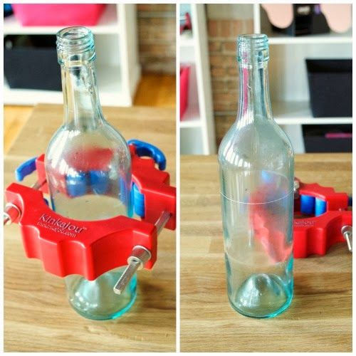 1000 images about wine bottle glass cutter on pinterest for Glass cutter for wine bottles