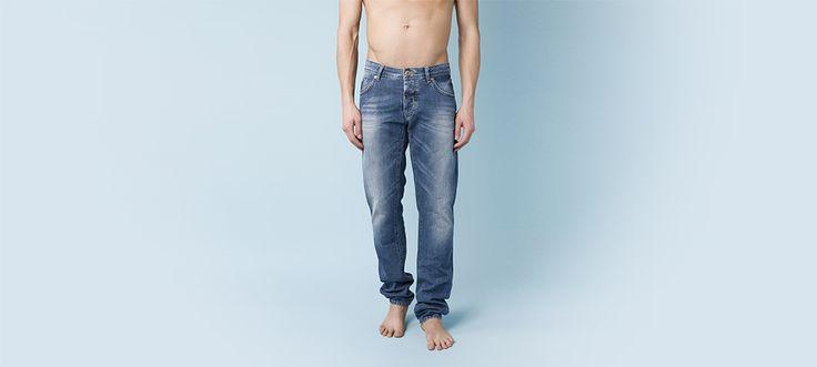 Gaudì Spring Summer 2013 Jeans Fitting Guide - GJ - Regular