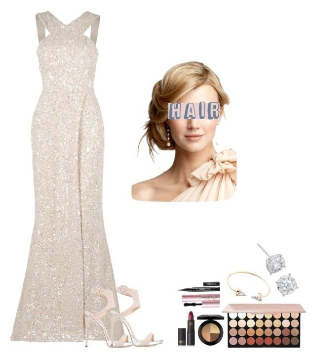 """""""Sin título #2127"""" by marifer-oso on Polyvore featuring moda, Elie Saab, Lipstick Queen, Giuseppe Zanotti, MAC Cosmetics, Too Faced Cosmetics y Masquerade"""