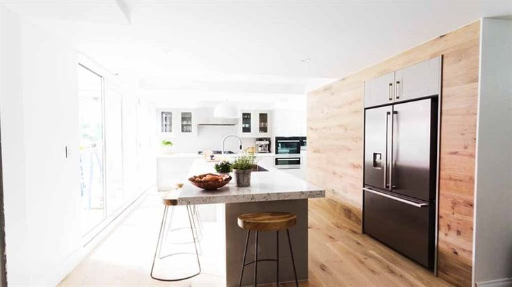 The judges first topic when stepping into Jess and Ayden's kitchen was whether flipping their floor plan had paid off.