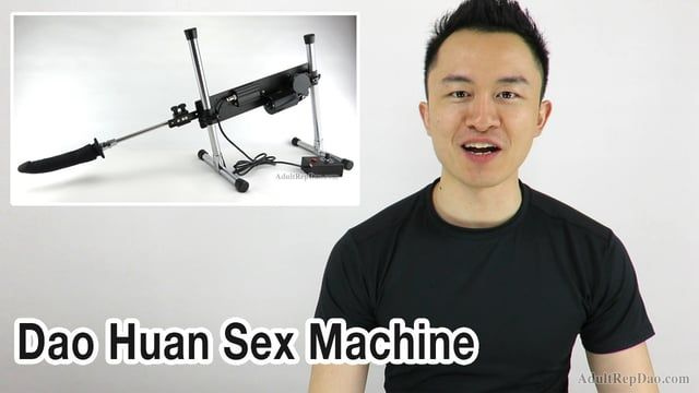 Dao-huan Chang, founder of Dao Huan Sex Machine & AdultRepDao. Best place to buy sex machines. Dildo attachments & accessories.