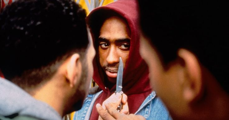 The 25th anniversary edition of the movie Juice contains the film's original ending, in which Tupac defies the law one last time.