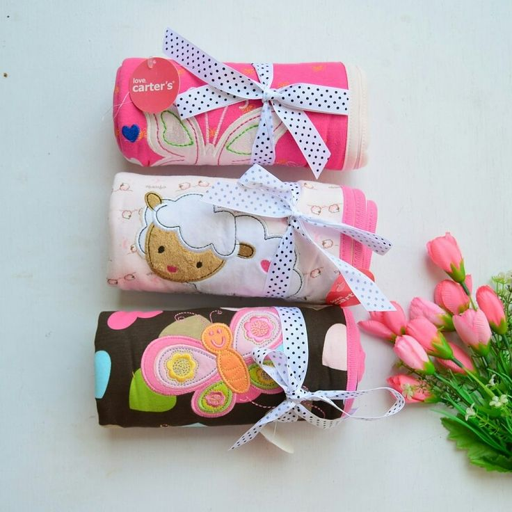 Selimut carter Rp. 90.000/pcs  PINK BUTTERFLY - SOLD