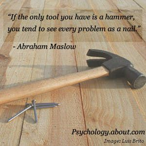A Quote from Abraham Maslow