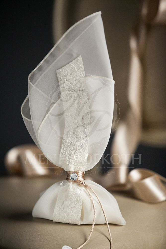 Elegant wedding bomboniere favor