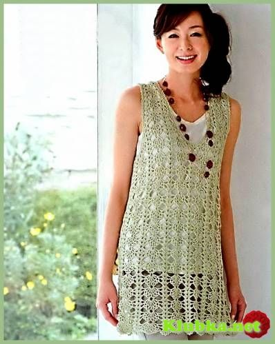 Simple tunic with diagram