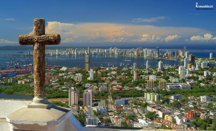 Cartagena de Indias, ciudad amurallada, orgullo de Colombia. #Cartagena #Amurallada #OrgulloColombia #Mar #Colombia #Turismo #TurismoEnColombia #Paisajes
