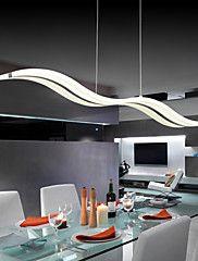 40W Contemporaneo LED Cromo Luci Pendenti Salotto / Camera da letto / Sala da pranzo / Sala studio/Ufficio / Camera dei bambini