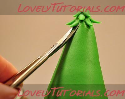 МК лепкановогодние елочки-Gumpaste (fondant, polymer clay) Christmas trees making tutorials - Мастер-классы по украшению тортов Cake Decorating Tutorials (How To's) Tortas Paso a Paso