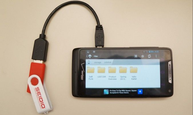How to Connect USB Storage Devices to Your Android Phone / tablet