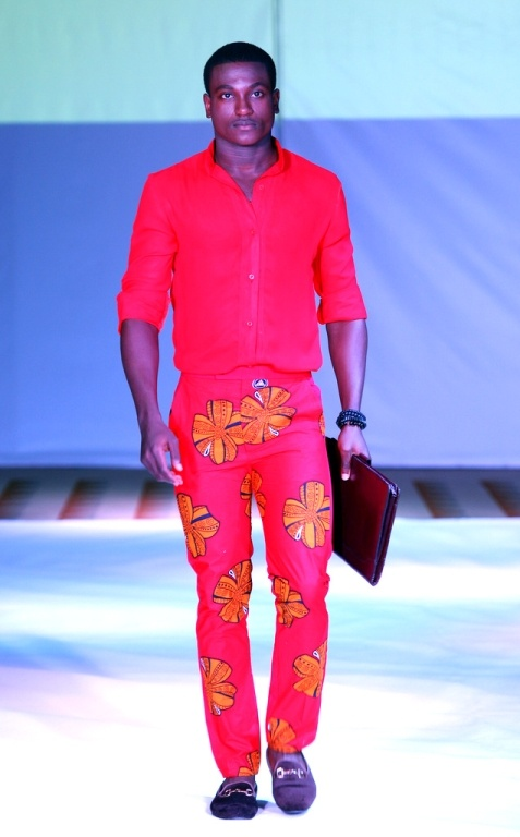 2012 Ghana Fashion & Design Week -Orange Culture