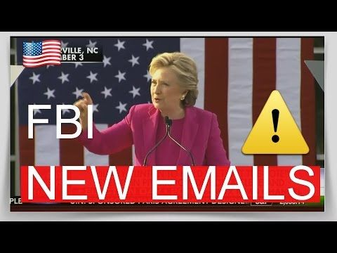 Hillary Clinton Latest News Today Latest News FBI  New Emails
