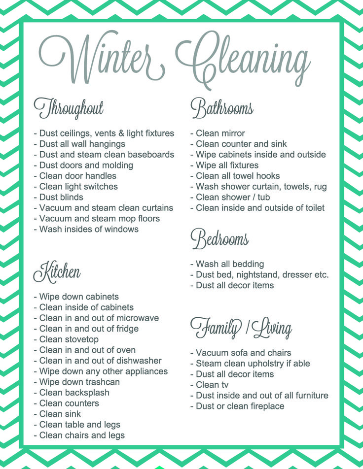 Best 25+ Deep Cleaning Checklist Ideas On Pinterest | Deep