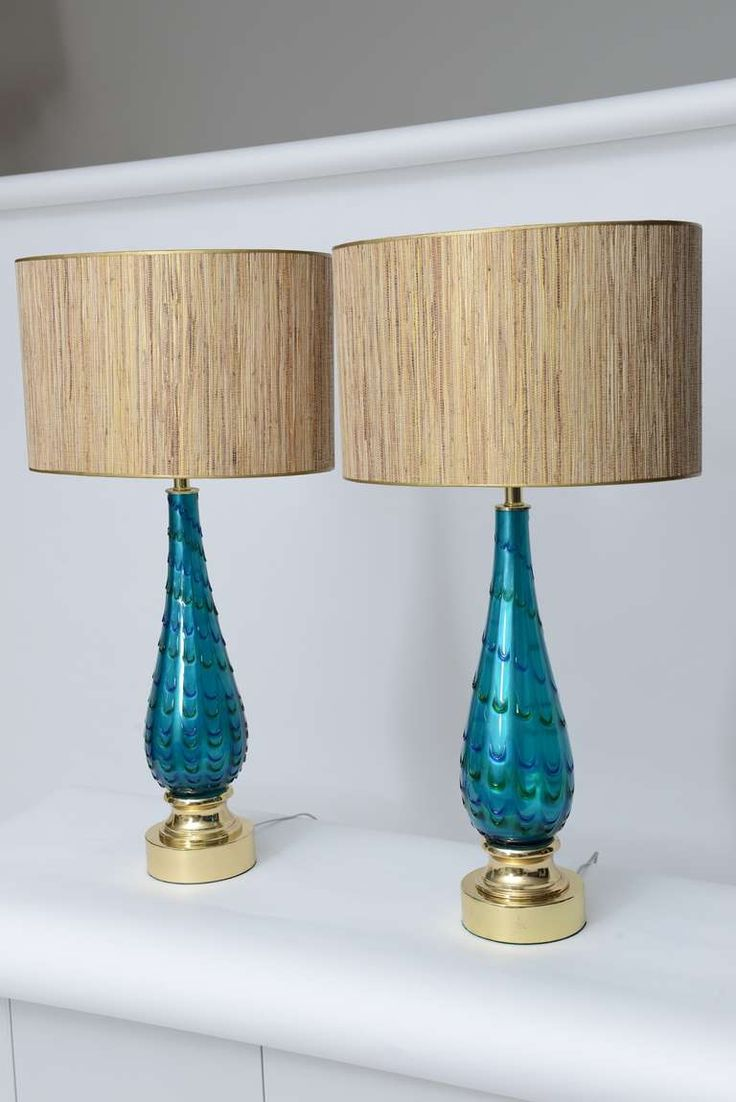 113 best Murano style glass lamps images on Pinterest | Glass ...