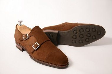 MEERMIN - Classic Collection > BUCKLES > 101341D - SNUFF RAPELLO SUEDE