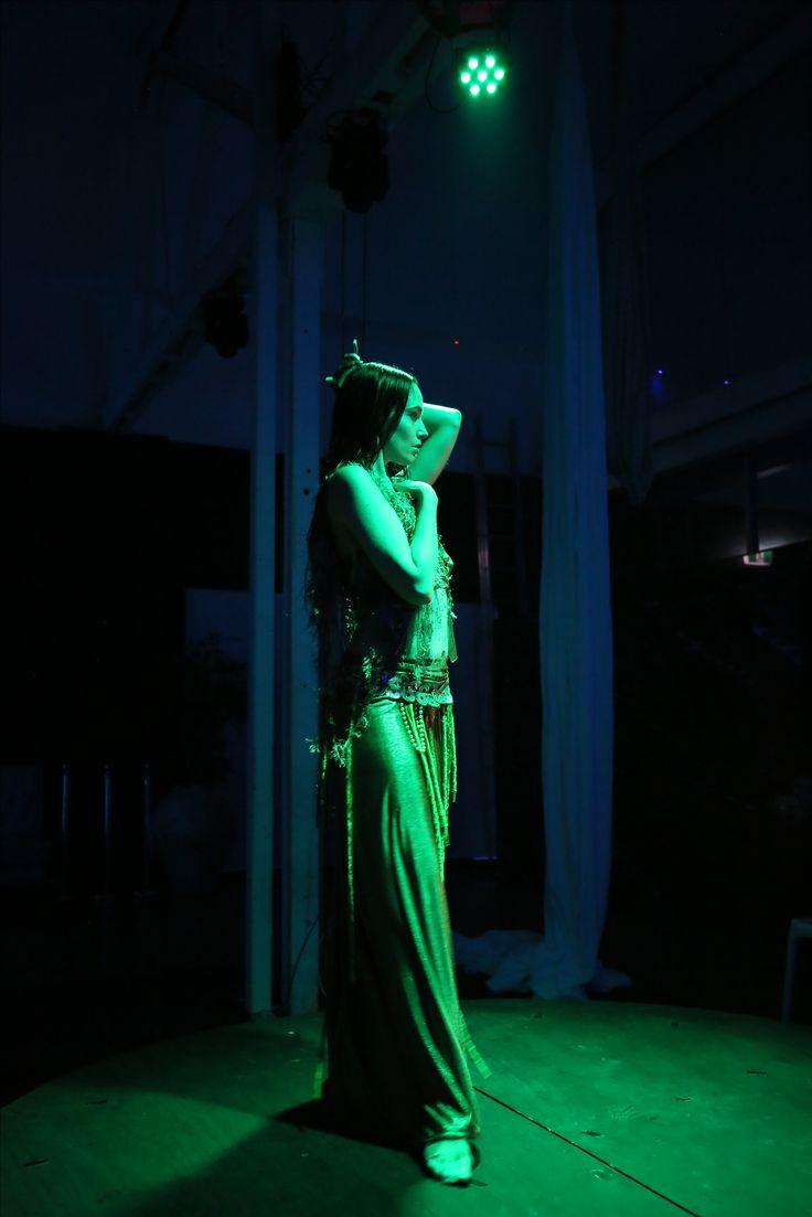 RUSALKA, Cirque Nocturne, Adelaide Cabaret Fringe 2017, Atlantis Lounge.  Photographer: Hannah Tunstill Dancer: Bridgettt Cains