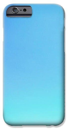 Turquoise Blue Sky iPhone Case