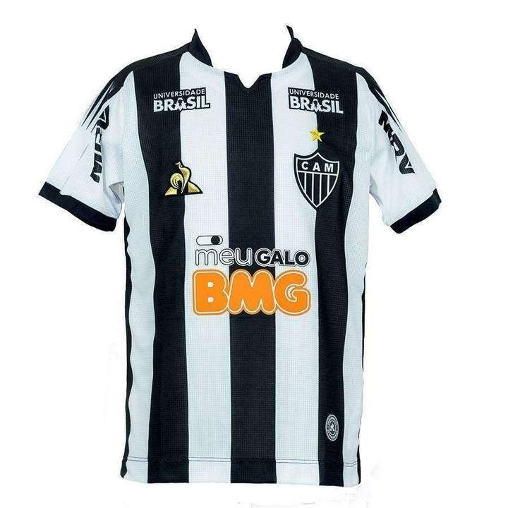 Camisa Le Coq Sportif Atlético Mineiro Oficial II 2019 Masculina