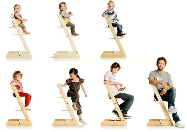 Stokke Tripp Trapp Chair Grows With Baby