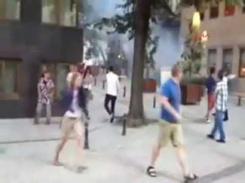 Taksim'de palalı dehşeti