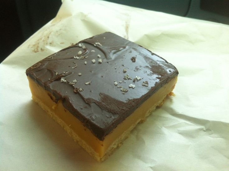 Top 5 caramel slice