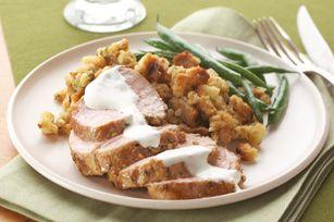 Roast Pork Tenderloin Supper Recipe - Kraft Recipes