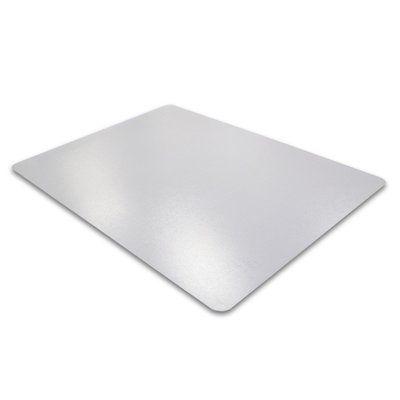 "FLOORTEX Desktex Anti Slip Desk Protector with Anti Slip Back and Embossed Size: 59"" x 29"""