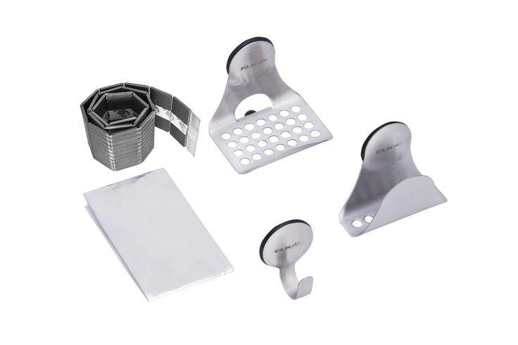 Elkay LKSMHSL SinkMate Sink Accessory Package - Includes Sponge Holder Hook an Stainless Steel  Sink Accessories