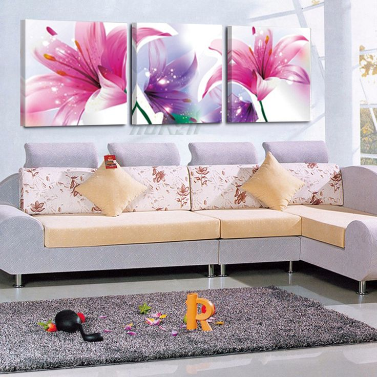 Flower For Living Room Canvas Prints With Different Sizes At Competitive Price Your Home