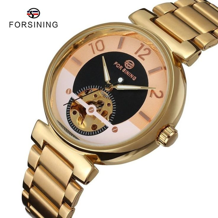 Find More Mechanical Watches Information about 5 Colors FORSINING montre homme Mens Gold Steel Automatic Mechanical Men Watch Luxury Brand Male Clock Relogio Masculino Relojes,High Quality watch heart rate monitor,China watch swiss Suppliers, Cheap watch army from YIKOO Watches Store on Aliexpress.com