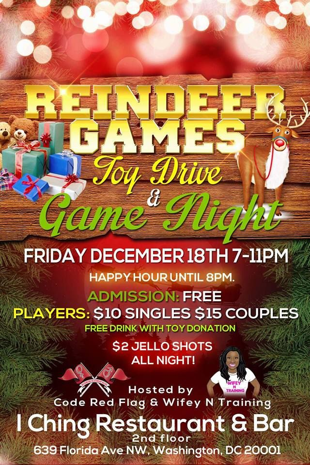 the ultimate adult game night for couples and singles hosted by code red flag and wifey n. Black Bedroom Furniture Sets. Home Design Ideas