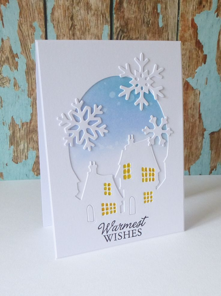 how to make layered cards