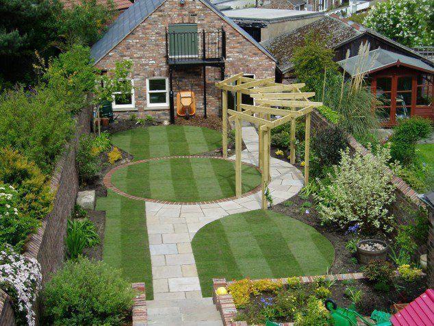 Impressive On Big Backyard Landscaping Ideas Exterior Home Landscape Ideas Garage Japanese Design Idea En Jardin Contemporain Bordure Jardin Amenagement Jardin