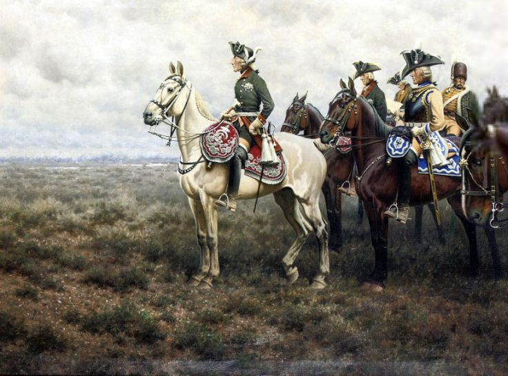 Frederick_the_Great_and_his_staff_at_the_Battle_of_Leuthen_by_Hugo_Ungewitter Ten Amazing Facts About Frederick the Great of Prussia