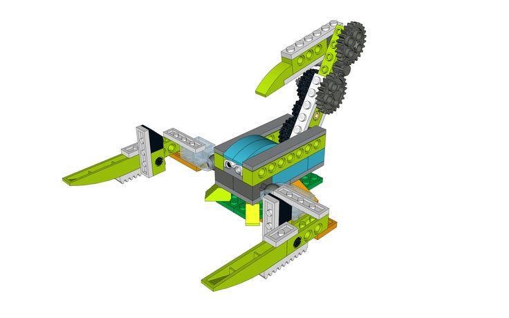 LEGO WeDo 2.0 project Scorpion