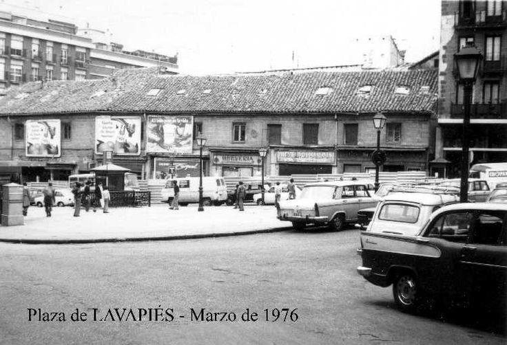 Plaza de Lavapiés. Madrid, marzo 1976