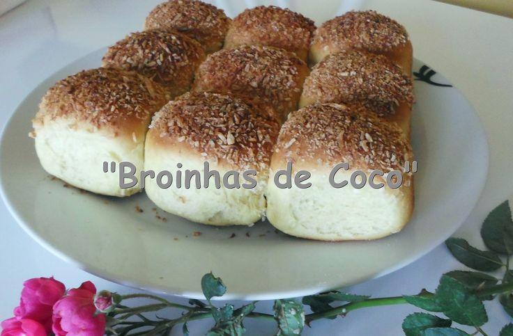 Receita Super Fácil - Broinhas de coco