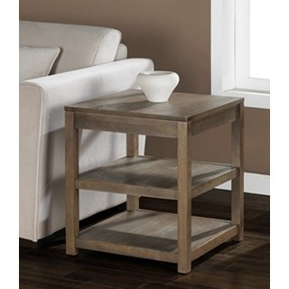 tacoma weathered end table $92