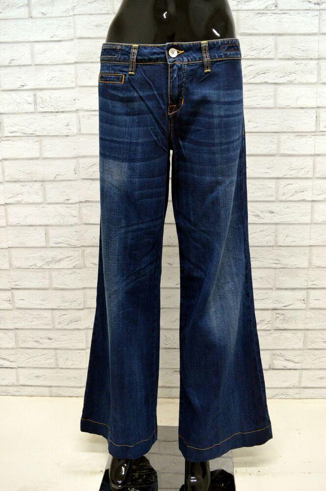 a9001e3c16 Jeans JACOB COHEN 730 Donna Taglia 48 Pants Woman Pantalone Elastico ...